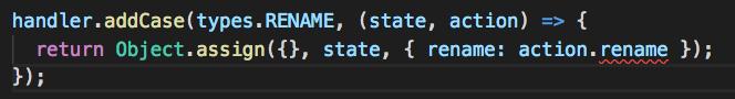 Visual Studio Codeの場合、型のエラーは赤い波線で教えてくれる。