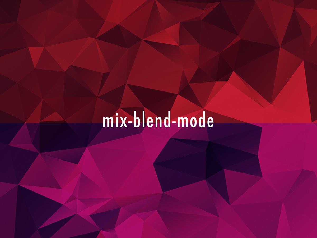 mix-blend-mode