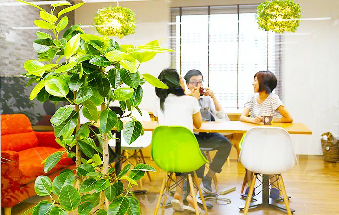 デザインオフィス休憩室