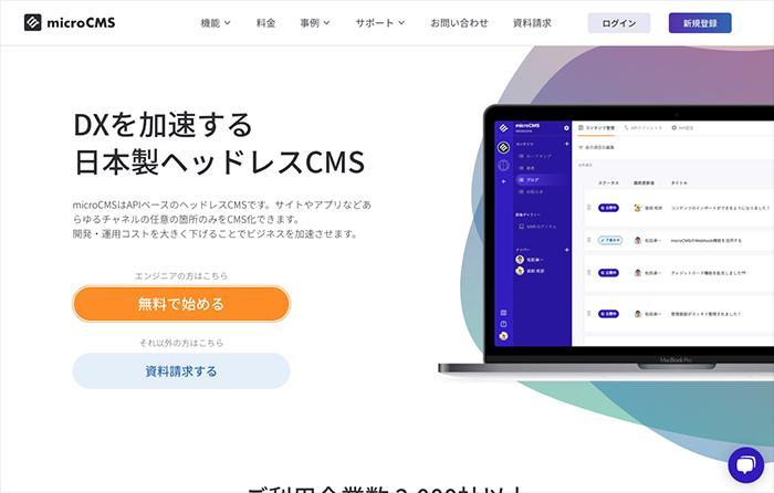 Micro CMS